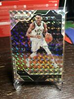 Giannis Antetokounmpo NBA Card 33 2016-17 Mosaic Prizm Holo MIlwaukee Bucks 🔥🔥
