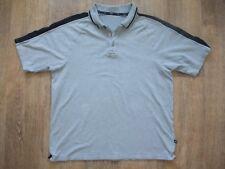 Blue Harbour Short Sleeved Men's Polo Neck Grey Cotton T-shirt medium M
