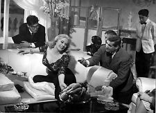 Photo originale Anita Ekberg La dolce vita Federico Fellini