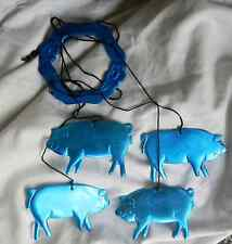 Blue Pig Mobile - Metal Mobile - Indoors / Outdoors - BNWT