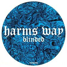 HARMS WAY Blinded Ltd Ed RARE New Sticker +FREE Metal Hardcore Rock Stickers Lot