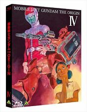 Mobile Suit Gundam The Origin IV 4 Blu-ray Booklet Japan English Subtitles F/S