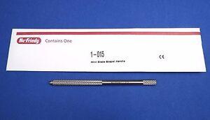 Dental Mini Blade Scalpel Handle 3K / Micro scalpes Blades /1-015 HU FRIEDY
