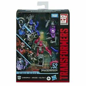 Transformers Studio Series 52 Chromia Arcee Elita-1 Deluxe Class Action Figures