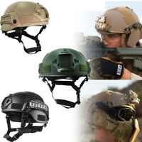 Outdoor Tactical Helmet Army Airsoft Military Tactical Combat Riding Hunting New