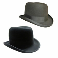 Denton Homburg Wool Hat Made Famous By Churchill & The Godfather Blk/Grey/Brown