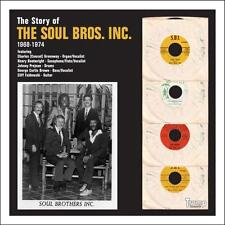 "SOUL BROS. INC.  ""THE STORY OF, 1968 - 1974""  A COLLECTION OF THEIR VERY BEST LP"