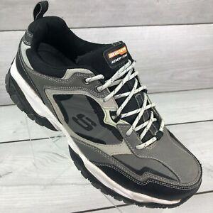 Skechers Memory Foam Shoes 52700W Wide Sport Train Comfort Sneaker Men's 11 Gray