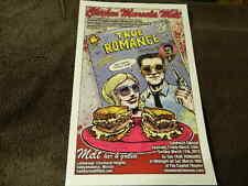 "3/2013 ""Chicken Marsala Melt"" MELT BAR & GRILLED Poster - TRUE ROMANCE Movie"