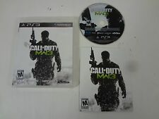 CALL OF DUTY MODERN WARFARE 3 PLAYSTATION 3 PS3 *FREE SHIPPING** COMPLETE