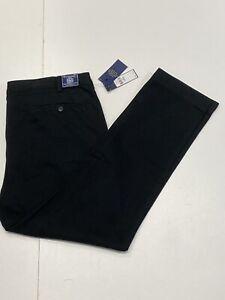 Ralph Lauren Men's Slim Fit Bedford Chino In Black. Size-40W-30L