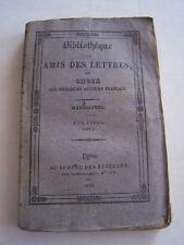 LIVRE ANCIEN POUR COLLECTION , BIBLIOTHEQUE DES AMIS DES LETTRES , MARMONTEL .