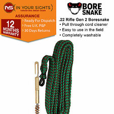 Gen2.22 CALIBRO /,56 mm * CAL Bore Serpente Boresnake RIFLE Barrel CLEANER