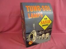 Vintage Tung-Sol Lamps and Flasher Display Cabinet – Brilliant Colors