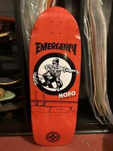 Vintage Black Label Emergency Skateboard Pig Deck MOFO Thrasher Skate Rock