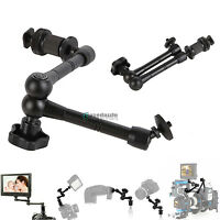 "7"" Adjustable Friction Articulating Magic Arm for DSLR Rig LCD Monitor LED Light"