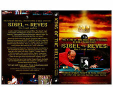 The King of the Hill 8-Ball Shootout - Pool DVD - Sigel vs. Reyes Free Shipping