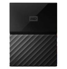 "WD My Passport 2TB USB 3 0 2.5"" Portable External Hard Drive Black HDD"