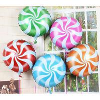 2pcs bonbons ballons sucettes tourbillon fleur de menthe poiv ww