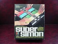 S2 1979 MILTON BRADLEY MB SUPER SIMON ELECTRONIC GAME MIB BOX INSTRUCTION INSERT