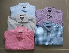5 x OXFORD Men's Long Sleeve Shirt Button Front Size M - Excellent Condition