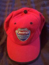 Berkley Conservation Institute Fishing Hat Cap Red Adjustable