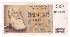 500 Frank/Francs    type  Eeuwfeest     06.05.1958   Morin 83c