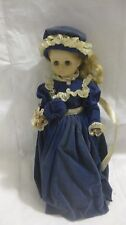 American Tradition Dolly Payne Madison Porcelain Doll 1st Lady Gown Brinn's 1987