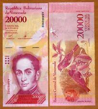 Venezuela 20000 (20,000) Bolivares, 13-12-2017, P-New  A-Prefix UNC