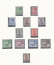 Somaliland. 1951. SG 125-135, 5c to 5/-. Mounted mint.