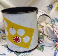 VTG ANDROCK Flour Sifter Kitchen Gadget Polka Dot Pattern in White Red Yellow