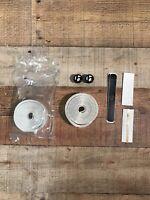 Bontrager Double Gel Cork Bike Handlebar Grip Tape ~ WHITE ~ BRAND NEW