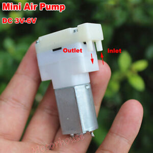 DC 3V-6V 5V Mini 130 Vacuum Air Pump Blood Pressure Monitor Suction Breast Pump