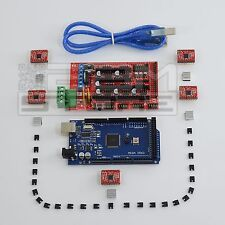 Kit BASE elettronica stampante 3D - RAMPS arduino MEGA A4988 - ART. CP08