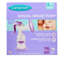 NEW LANSINOH MANUAL BREAST PUMP BABY FEDDING BREASTFEEDING NATURAL COMFORT CARE