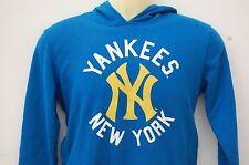 Boys Majestic New York Yankees Blue Hoodie/Hoody/Gilet Baseball 12/13 Years