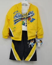 Nickelodeon Go Diego Adventure 3pc Set Long Sleeve T-Shirt Jacket pants 4T New