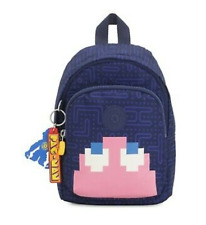 Kipling Mini Pac-Man Delia Compact 3-in-1 Convertible Backpack NWT