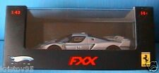 FERRARI FXX NURBURGRING #16 SILVER HOT WHEELS ELITE NEW 1/43 MATTEL HOTWHEELS