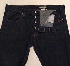 EUC>>Men's H&M Button Fly Jeans>>Size 38X36 (my measure 39X34.5) Straight Leg