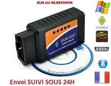 ELM327 Bluetooth v2.1OBD2 interface de diagnostique multimarques pour pc Android