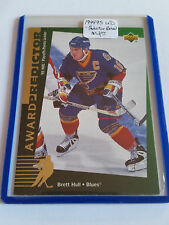 1994-95 Upper Deck Predictor Retail #R57 Brett Hull : St. Louis Blues