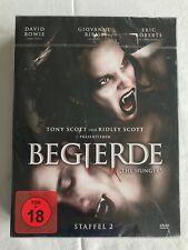 BEGIERDE - THE HUNGER - STAFFEL 2 - DAVID BOWIE - 4 DVD's - NEU & OVP - FSK18