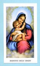 SANTINO  MADONNA DELLE GRAZIE  IMAGE PIEUSE - HOLY CARD SANTINI