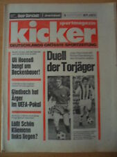 KICKER 15 - 20.2. 1975 Duell der Torjüager Heynckes Sandberg Augsburg-Bremen 1:2