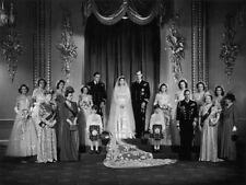 """Queen Elizabeth II 1947 Wedding Portrait 14 x 11"""" Photo Print"""