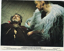 Lilli Palmer  MURDERS IN THE RUE MORGUE(1971) Original lobby card