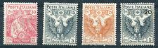 1915 Pro Croce Rossa - 4 valori Nuovi MNH Regno