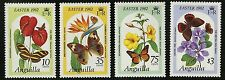 Anguilla   1982   Scott #480-483   MNH Set