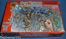 DARK ALLIANCE - HEAVY WARRIORS OF THE DEAD CAVALRY. 1/72 SCALE PLASTIC FIGURES